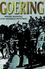 Cover of: Goering-Softbound