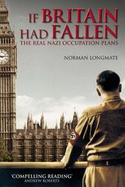 Cover of: If Britain Had Fallen | Norman Longmate