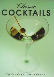 Cover of: Classic Cocktails