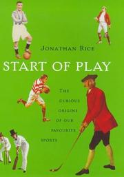 Cover of: Start of play