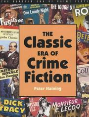 Cover of: The classic era of crime fiction