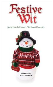 Cover of: Festive Wit | Holly Robinson