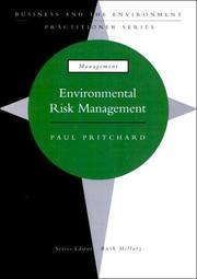 Cover of: Environmental Risk Management (Business & Environment Practitioner Series)