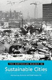 Cover of: The Earthscan Reader in Sustainable Cities