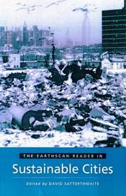 Cover of: Earthscan Reader in Sustainable Cities
