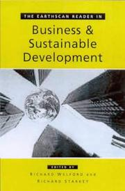 Cover of: The Earthscan Reader in Business and Sustainable Development (Earthscan Readers Series) |