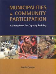 Cover of: Municipalities and community participation | Janelle Plummer