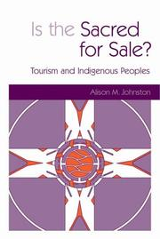 Is the Sacred for Sale? by Alison M. Johnston