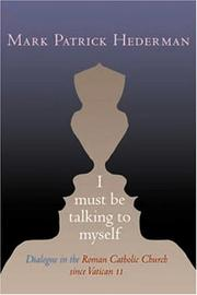 Cover of: I Must Be Talking to Myself
