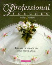 Cover of: Professional touches