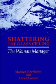 Cover of: Shattering the glass ceiling