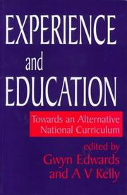 Cover of: Experience and Education |