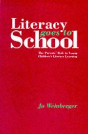 Cover of: Literacy goes to school