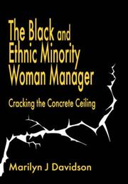 Cover of: The Black and ethnic minority woman manager