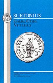 Cover of: Suetonius