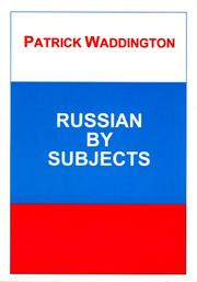 Cover of: Russian By Subjects | P. Waddington