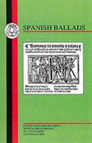 Cover of: Spanish Ballads