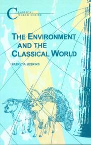 Cover of: The environment and the classical world
