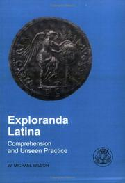 Cover of: Exploranda Latina | Michael Wilson