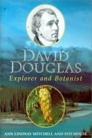 Cover of: David Douglas by Ann Lindsay Mitchell, Syd House