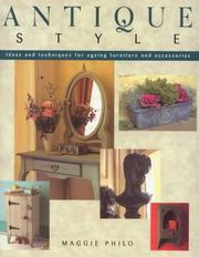 Cover of: Antique Style