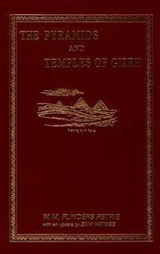 Cover of: The Pyramids And Temples Of Gizeh