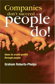 Cover of: Companies Don't Succeed People Do!