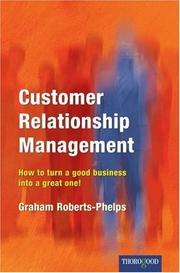 Cover of: Customer Relationship Management