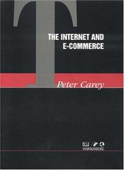 Cover of: The Internet and E-commerce
