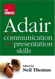 Cover of: The Concise Adair on Communication and Presentation Skills