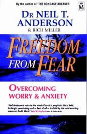 Cover of: Freedom from Fear: Overcoming Worry & Anxiety