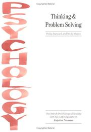 Cover of: Thinking & problem solving