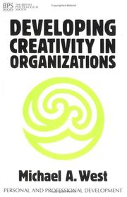 Cover of: Developing Creativity in Organisations (Personal & Professional Development)