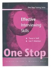 Cover of: Effective Interviewing Skills | Tracey Swift