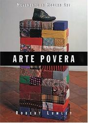 Cover of: Arte povera
