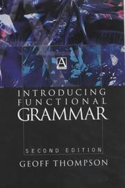 Cover of: Introducing Functional Grammar (Arnold Publication)