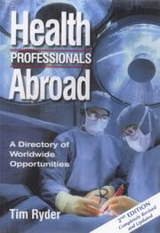 Cover of: Health Professionals Abroad | Tim Ryder