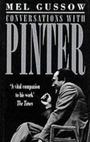 Cover of: Conversations with Pinter