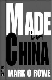 Cover of: Made in China