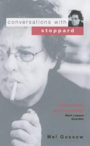 Cover of: Conversations with Stoppard