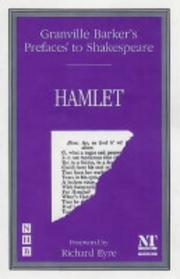 "Cover of: Preface to ""Hamlet"""