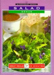Cover of: Salad Menus | Claremont
