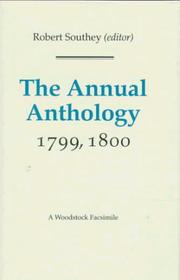 Cover of: The Annual Anthology