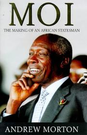 Cover of: MOI - The Making of an African Statesman