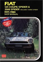 Cover of: Fiat 124 Coupe / Spider & 2000 Spider | R.M. Clarke