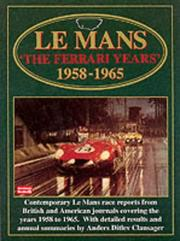 Cover of: Le Mans | R.M. Clarke