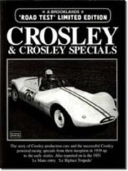 Cover of: Crosley & Crosley Specials (Limited Edition) | R.M. Clarke