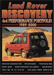 Cover of: Land Rover Discovery | R.M. Clarke
