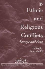 Cover of: Ethnic and religious conflicts
