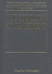 The Sociology Of Punishment: Socio Structural Perspectives